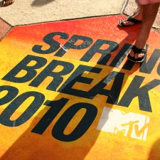 MTV marketing to millennials during spring break