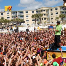 stage shows were at the heart of MTV's spring break experiential marketing campaign