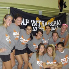 American Eagle experiential marketing with a intramural volleyball tournament