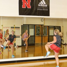 adidas employs experiential marketing with an aerobics class at the University of Nebraska
