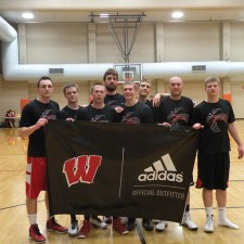 adidas college brand ambassadors on the University of Wisconsin basketball court