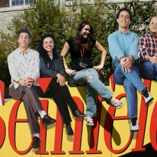 Sony's college marketing for the Seinfeld campus tour included photo ops