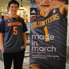 adidas college brand ambassador at the University of Tennessee