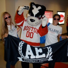 American Eagle brand ambassadors on Boston University's campus