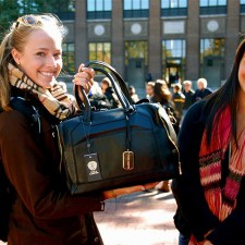 Peer to peer marketing of Vince Camuto bags by college brand ambassadors