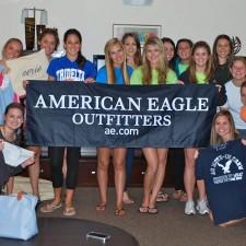 American Eagle college brand ambassadors