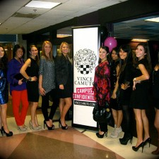 Vince Camuto college brand ambassadors go glam