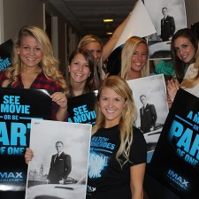 Peer to peer marketing by IMAX brand ambassadors