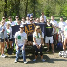 American Eagle's experiential marketing campaign included Earth Day activities with brand ambassadors