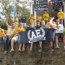 West Virginia University college brand ambassadors for American Eagle