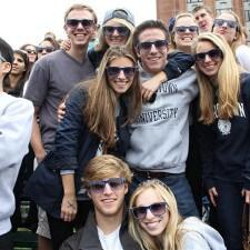 American Eagle college brand ambassadors at Georgetown University