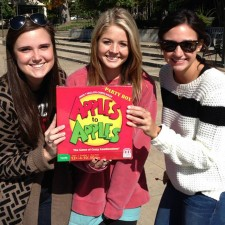 Mattel's college brand ambassadors used peer to peer marketing to promote Apples to Apples