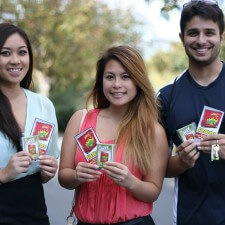 Mattel's college brand ambassadors used peer to peer marketing to promote the Apples to Apples games and sweepstakes