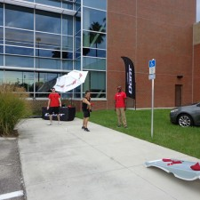 Chrysler Group's experiential marketing campaign included cars on the college campuses and interactive games