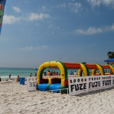 Fuze Beach was the centerpiece of Fuze's experiential marketing campaign in Panama City Beach, FL