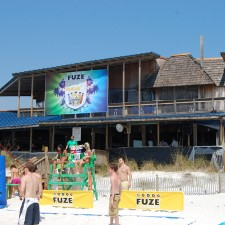 Fuze's experiential marketing campaign in Panama City Beach, FL
