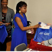 NCSC uses word of mouth marketing to promote GRE goodie bags from ETS