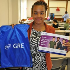 ETS uses college marketing to promote GRE registrations