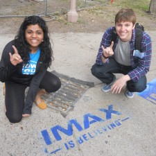 peer to peer marketing by brand ambassadors for IMAX