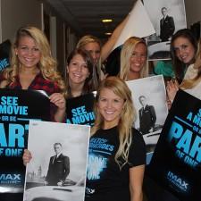 Peer to peer marketing by IMAX brand ambassadors