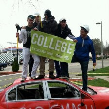 Michigan State brand ambassadors have fun with Neebo's experiential marketing campaign