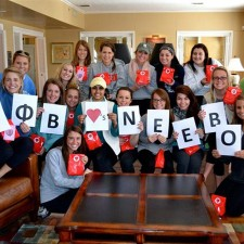 Sorority sisters delight in Neebo's experiential marketing campaign