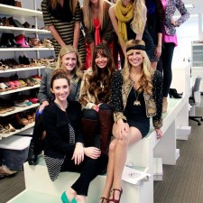 college brand ambassadors delight in Vince Camuto shoes