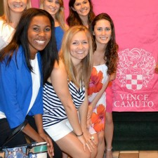 College brand ambassadors are pretty in Vince Camuto