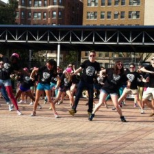 college marketing for Vince Camuto–a flash mob?