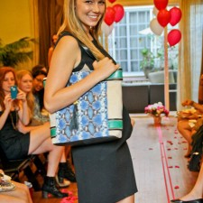 Vince Camuto college brand ambassadors put on a fashion show as part of the experiential marketing campaign