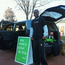 "Brand ambassadors for Zipcar let their peers know, ""you need a car for this"""