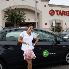Brand ambassadors get to Target with Zipcar