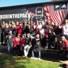 Northern Illinois University's college brand ambassadors for adidas have Pride in the Pack