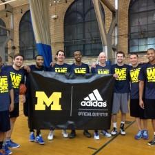 University of Michigan basketball team serves as brand ambassador for adidas