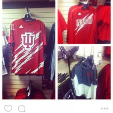 Brand ambassadors use word of mouth marketing to spread the word about Indiana University adidas gear