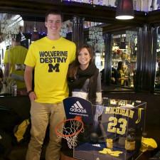 University of Michigan brand ambassadors for adidas