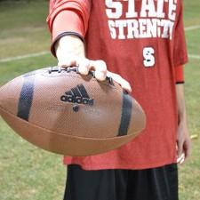 Marketing to millennials through adidas imprinted college footballs