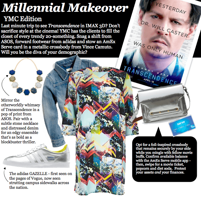 millennial makeover featuring YMC client brands