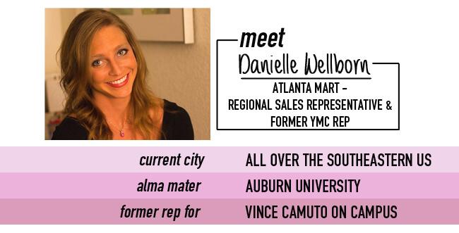 meet Danielle Wellborn, Regional Sales Rep & former YMC brand ambassador