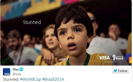Visa ad after WorldCup loss was a marketing failure