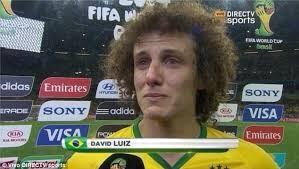 Brazilian World Cup player David Luiz