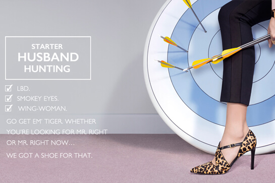 Nine West husband hunting ad