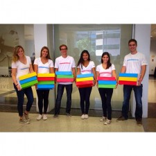 college brand ambassadors for google chromebook show off the colorful technology