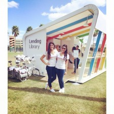 brand ambassadors contribute to experiential marketing at the google chromebook lending library