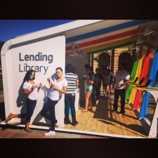 experiential marketing at the google chromebook lending library