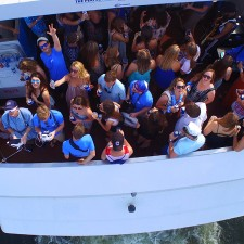 Experiential marketing to millennials on Bud Light's party boat
