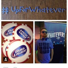 A Bud Light brand ambassador shows he's Up for Whatever through word of mouth marketing