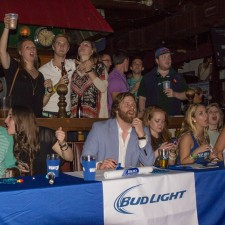 Experientail marketing to millennials during a Bud Light sponsored party