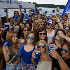 A Bud Light sponsored lake cruise: experiential marketing to millennials