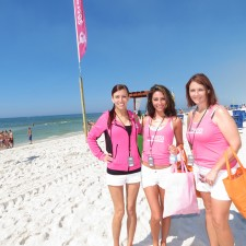 Peer to peer marketing: imPress brand ambassadors hit the beach to promote KISS press-on manicures